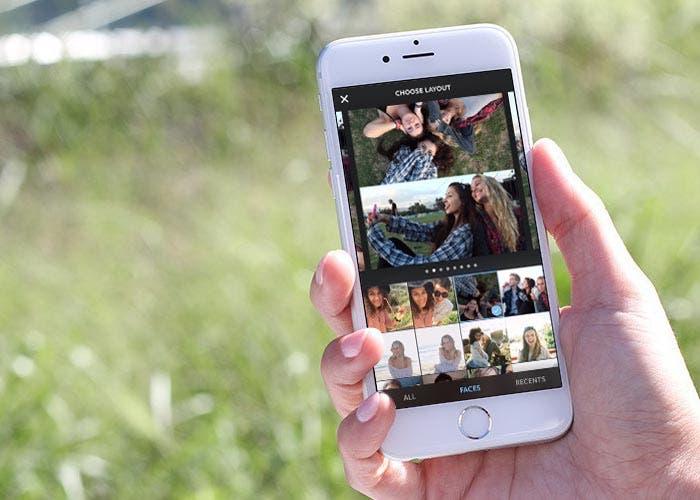 Aplicación para collages de Instagram