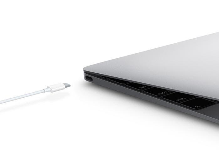 Cargando el nuevo MacBook