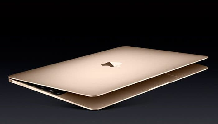 Nuevo color dorado para el MacBook Air