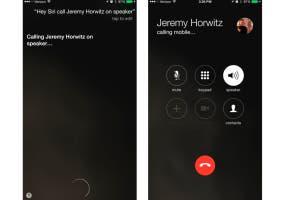 Llamadas con Oye Siri en iOS 8.3