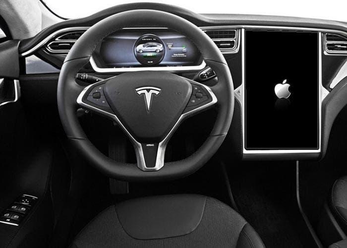 Tesla con sistema operativo de Apple