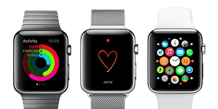 Algunas de las aplicaciones para el Apple Watch