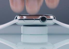 Base de carga de plástico del Apple Watch Sport