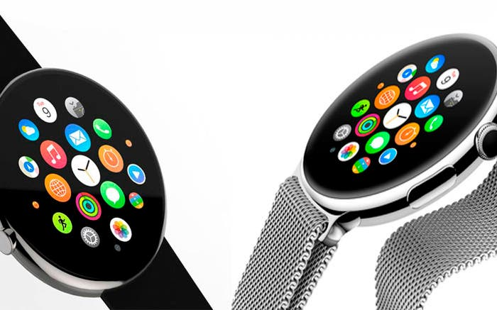 Posible diseño de un futuro Apple Watch 2