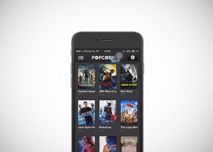Popcorn Time sin jailbreak en iOS
