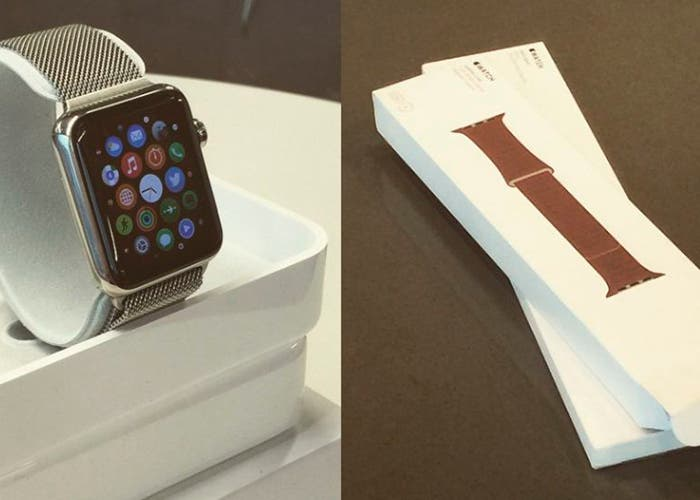 Vídeos de los primeros unboxing del Apple Watch