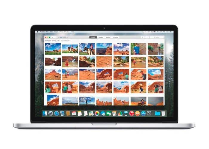 Aplicación Fotos