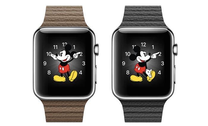 Cara de Mickey Mouse en el Apple Watch