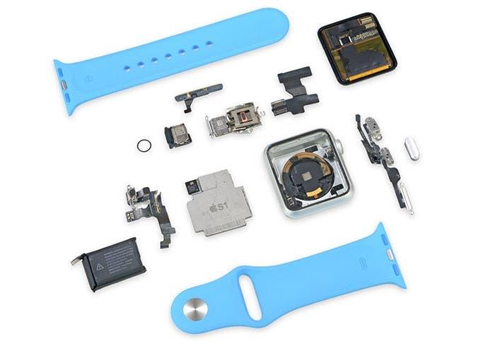 iFixit despieza al Apple Watch