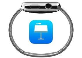 Keynote ahora controla las presentaciones desde el Apple Watch