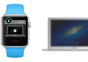 Knock desbloqueando un Mac desde el Apple Watch