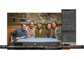 Captura de pantalla del nuevo Adobe Lightroom