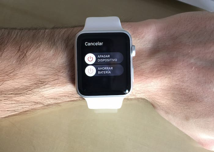 Ahorrar batería Apple Watch