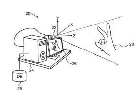 Patente de detección de gestos