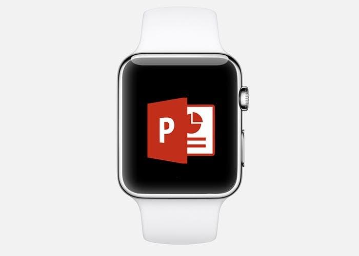 Control remoto de las presentaciones de PowerPoint en el Apple Watch