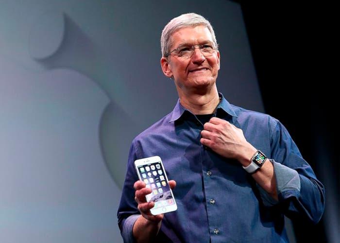 El Apple Watch y el iPhone