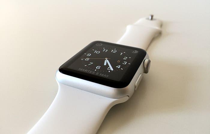 Apple Watch detalle enganche correa