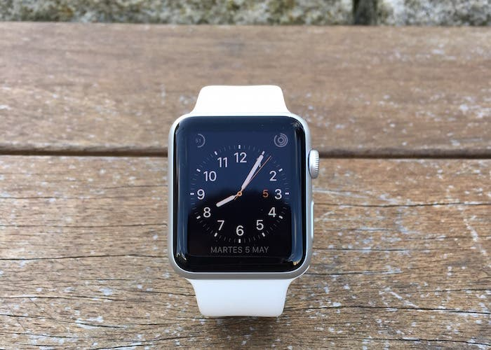 Pantalla en exteriores Apple Watch