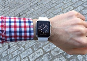 Apple Watch muñeca