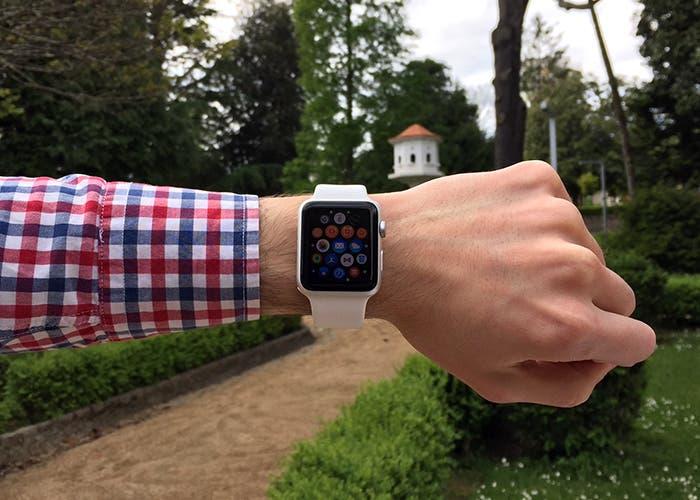 Pantalla aplicaciones Apple Watch