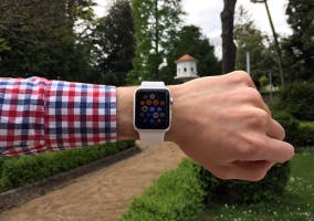 visión pantalla exteriores apple watch