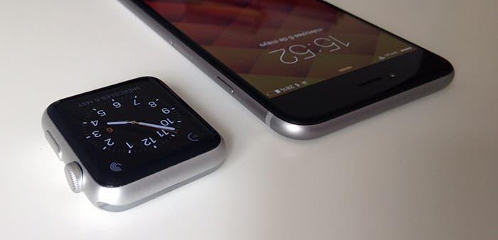 tamaño y diseño apple watch iphone 6 plus