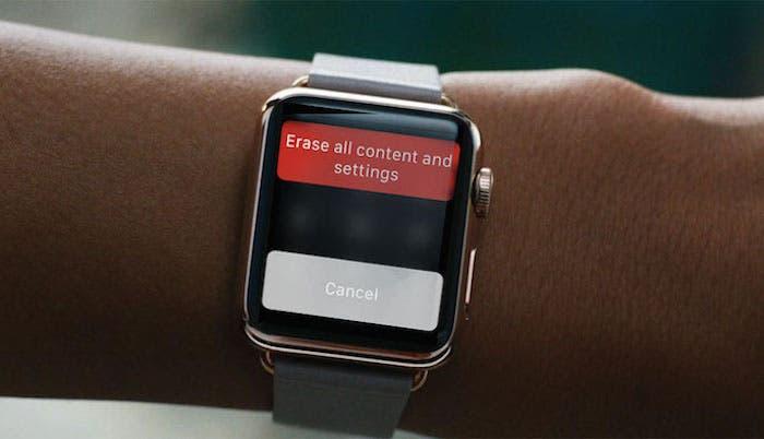 Restaurar Apple Watch