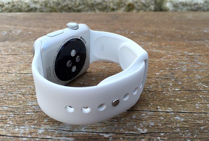 Sensor y correa deportiva del Apple Watch Sport