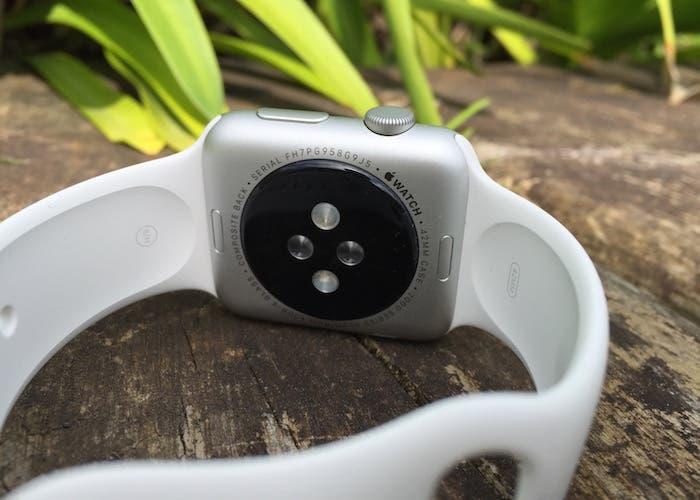 Caja Apple Watch parte trasera