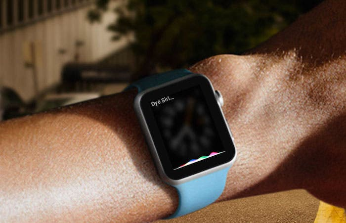 Oye Siri Apple Watch