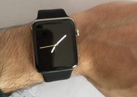 Apple Watch en la mano