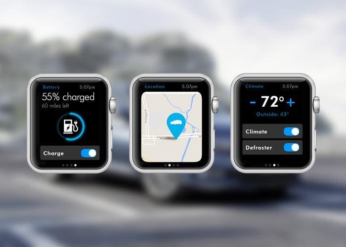 Aplicación de Volkswagen en el Apple Watch