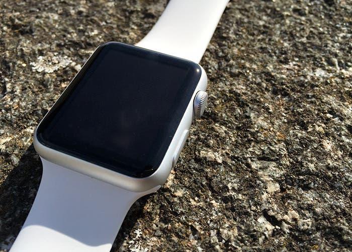 Corona digital del Apple Watch Sport