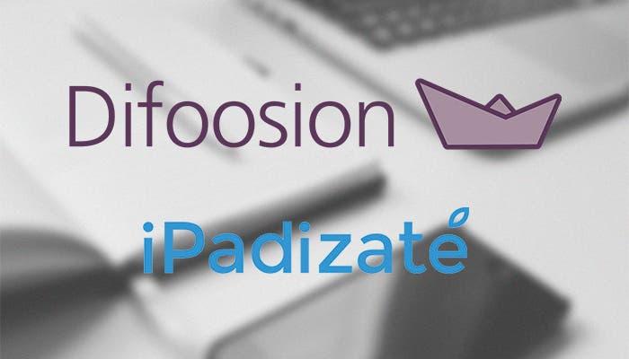 Difoosion y iPadizate