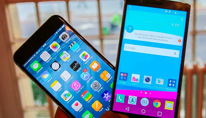 iPhone 6 vs LG G4