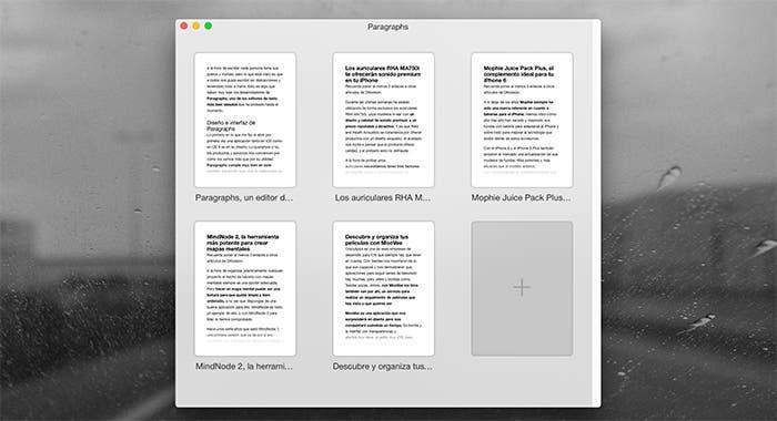 Documentos en Paragraphs