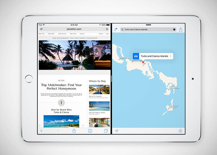 Multitarea real en iPad