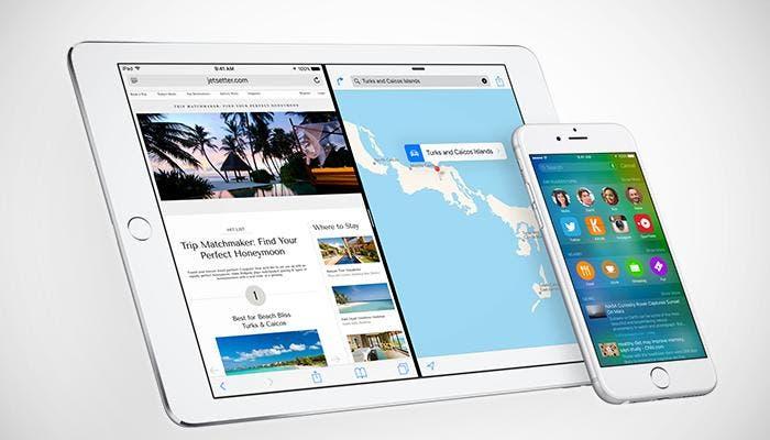 Multitarea y Spotlight en iOS 9