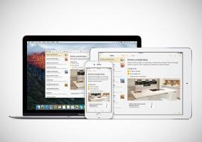 Notas en iOS 9 y OS X El Capitan
