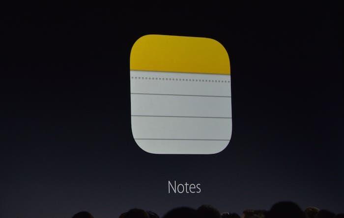 Notas aplicación iOS 9