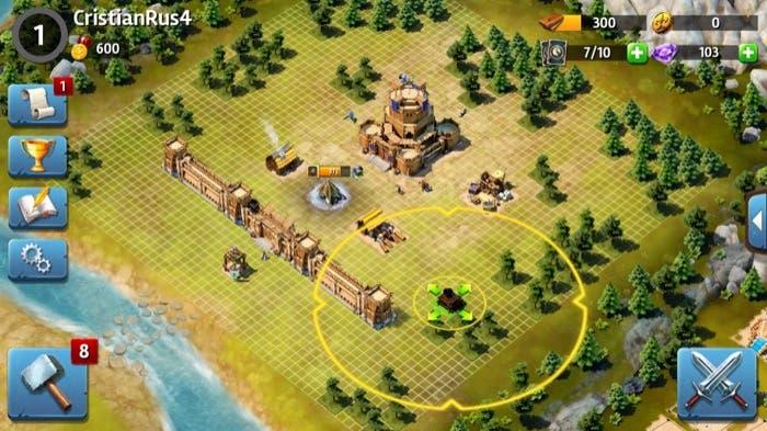 Siegefall construcción