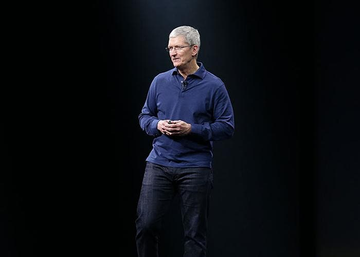 Tim Cook en keynote