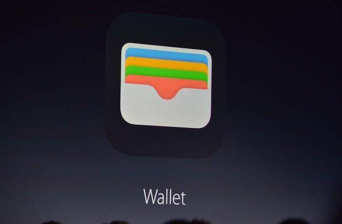 Wallet aplicación iOS 9