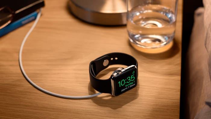 Apple Watch en modo horizontal