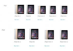 El iPad mini desaparece de la Apple Store