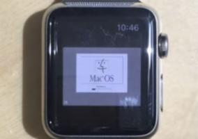 Mac OS cargado en el Apple Watch