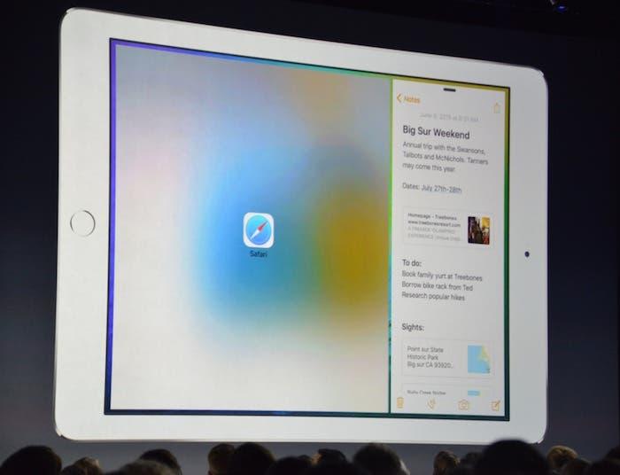 Multiventana iOS 9