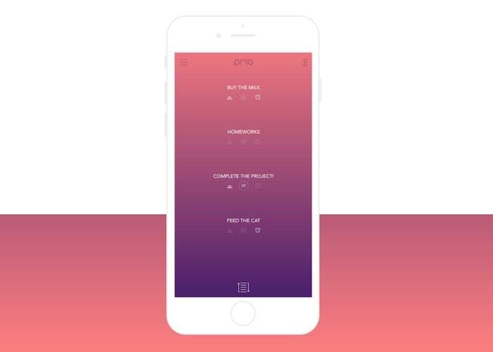 App Prio iPhone
