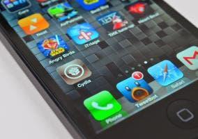 Captura pantalla con icono Cydia