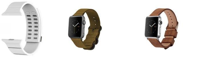 Correas alternativas para el Apple Watch